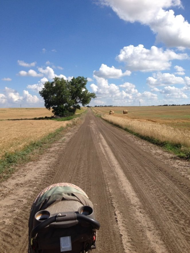 Dirt Road North Central Kansas - June 2014