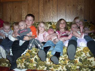 Great-Grandkids in 2010
